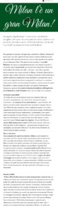 articolo Dal Milanese - La Cucina Italiana