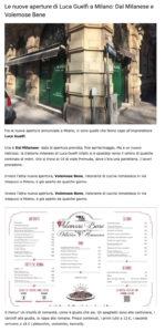 articolo Dal Milanese - Scatti di Gusto